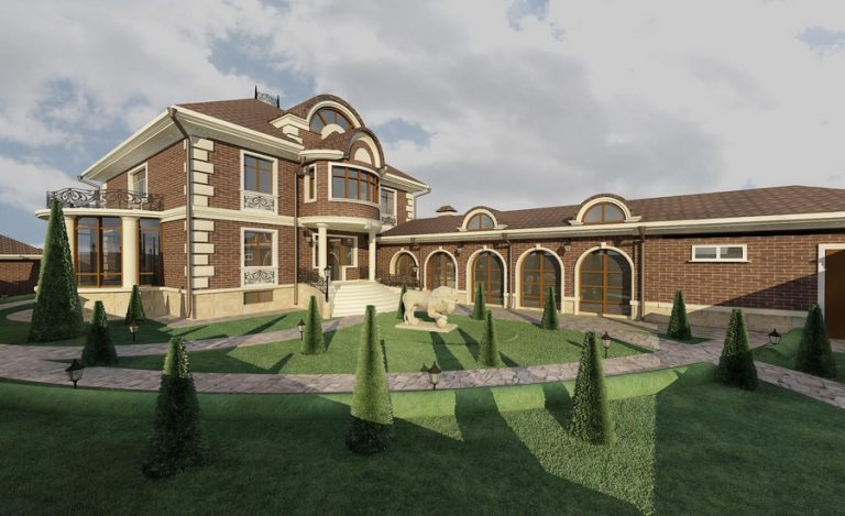 Дизайн-проект фасадов частного дома