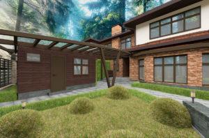 дом проект план фасад
