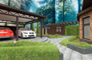 дизайн проект фасада дома