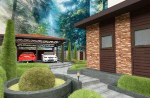 проекты фасадов пример