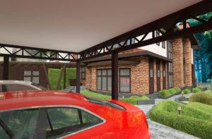 проект гаража для машин