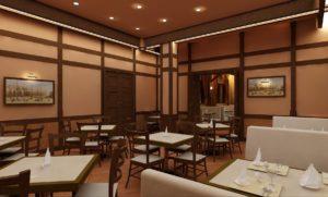 Дизайн интерьер кафе