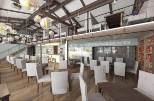 Разработка дизайна ресторанов