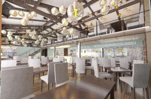 Лофт дизайн ресторанов