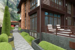 проект вентилируемого фасада