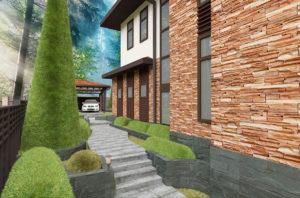 проект фасада здания
