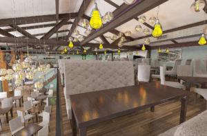 Дизайн интерьера кафе и ресторанов