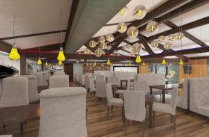 Заказать дизайн интерьера ресторана