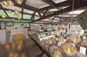 Дизайн ресторанов с тиле лофт