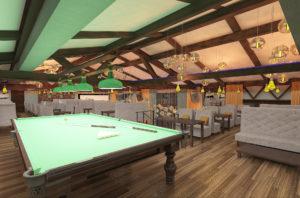 Дизайн баров ресторанов фото