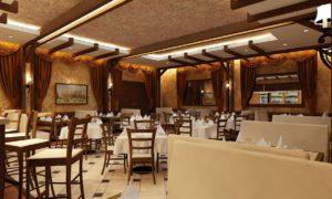 Классический дизайн ресторан